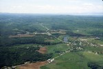780--Flyover from Burlington to Fairfax, VERMONT  June, 1994