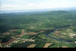 785--Flyover from Burlington to Fairfax, VERMONT  June, 1994