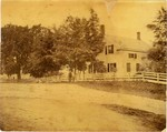 ORIGINAL HOUSE, 9 FLETCHER ROAD.  Property sold by Ezra S. Butler to John E. Kendrick May 31, 1900.  (Book 22 Page 196 - Fairfax Town Records - Photo and information is courtesy of Al Weldon and his wife (Butler Descendant) of Burlington, Vermont - FR0009 001