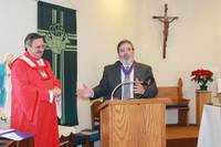Highlight for album: Installation Of Knights Of Columbus Officers Council #10830 Held on January 27, 2013
