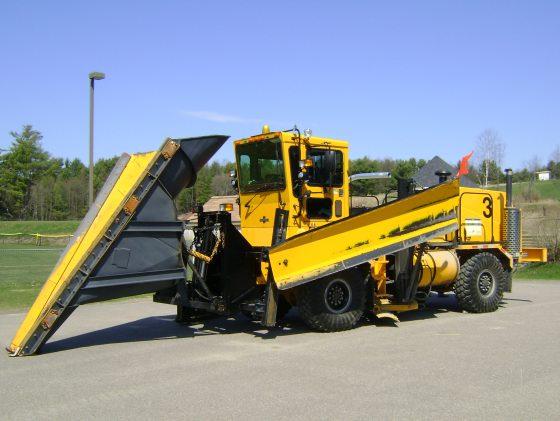 Burlington Airport plow truck