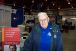101 Year Old Ray Jenkins, World's Oldest American Worker and also Oldest Living IBM Retiree was on the job, stopped for a minute to chat and was on his way - 2007-08-31 001