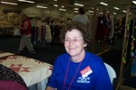 Sherry Giroux, also an IBM Retiree was working with Gina Meigs in the Quilting Area - 2007-08-31 003