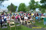 Even though it was very cloudy around 6 p.m., we had a great turnout - 2007-06-24 004