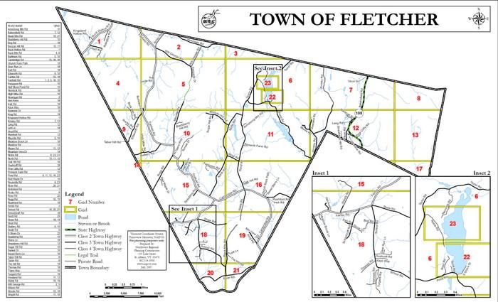 fletcher map
