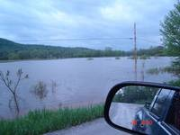 Highlight for album: High Water Photos By Ron Mapes -- May 20, 2006