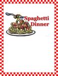spaghetti dinner 160509