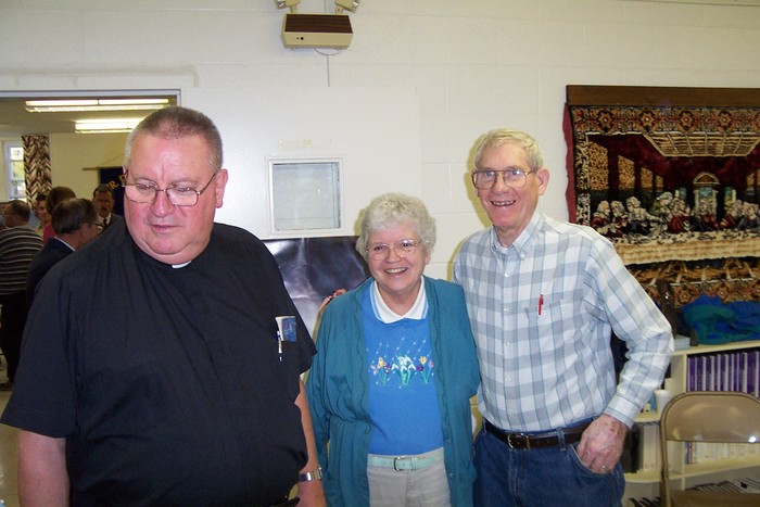 Picture 3641 - Father Frank & Dot & Bill Meisenzahl