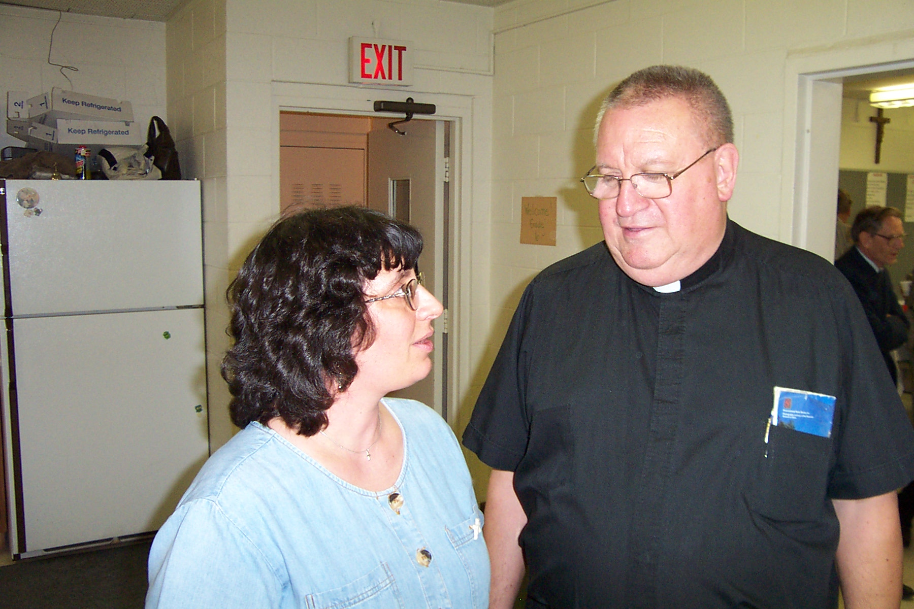 Bridget Morgan & Father Frank - Picture 3642