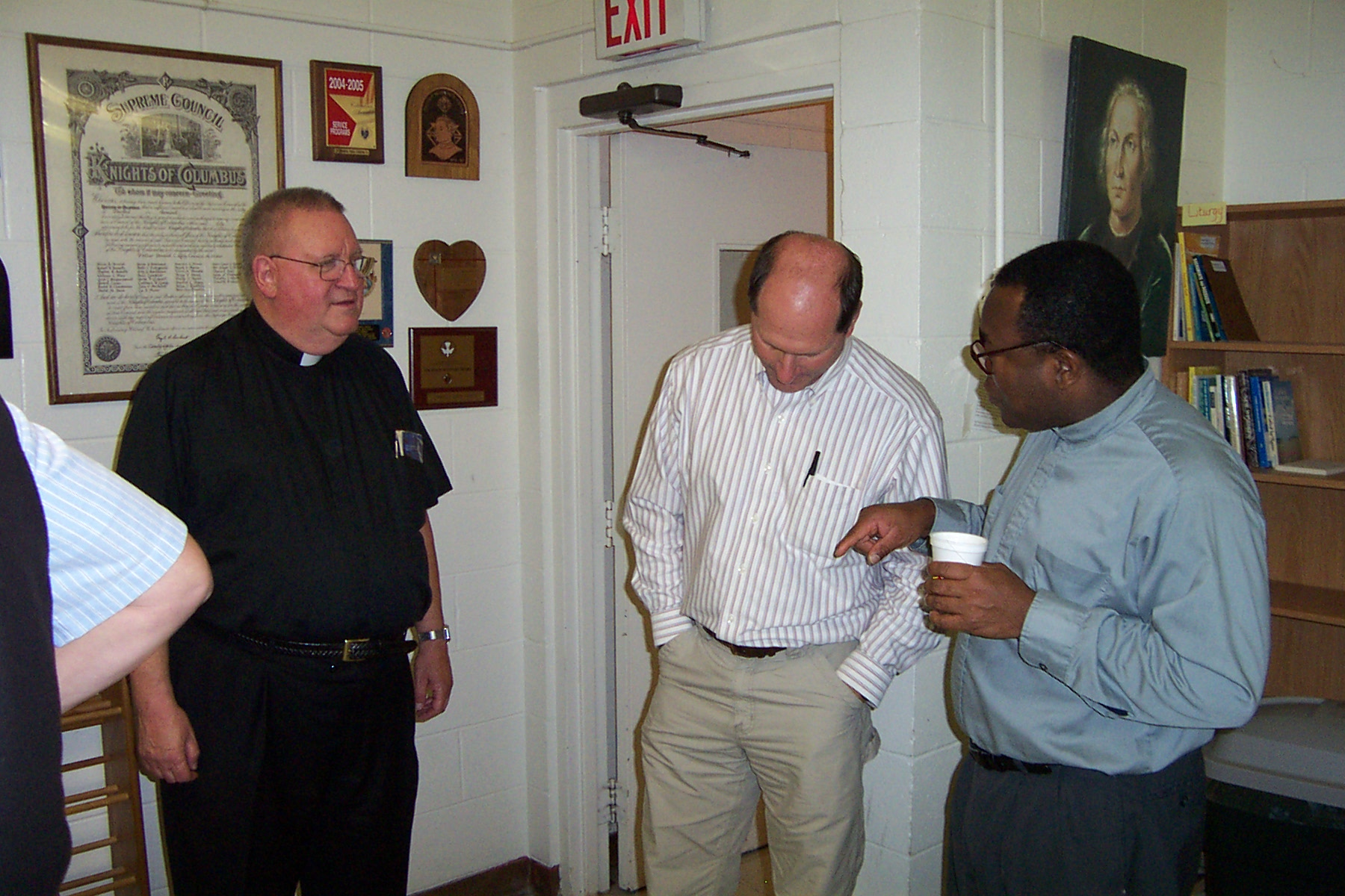 Father Frank, Guy Vanzo & Father Rome - Picture 3644