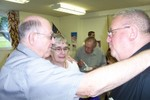 Jim & Jean Groseclose bid farewell to Father Frank - Picture 3648