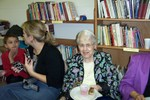 Rita Bessette with grand daughter Emily Wills on the left - Picture 3656