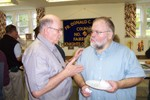 Deep conversation going on here between Jim Groseclose & Bob Bessette - Picture 3659