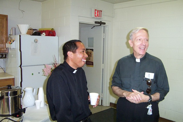 Father Julian and Father Feltz - 2008-07-06 014