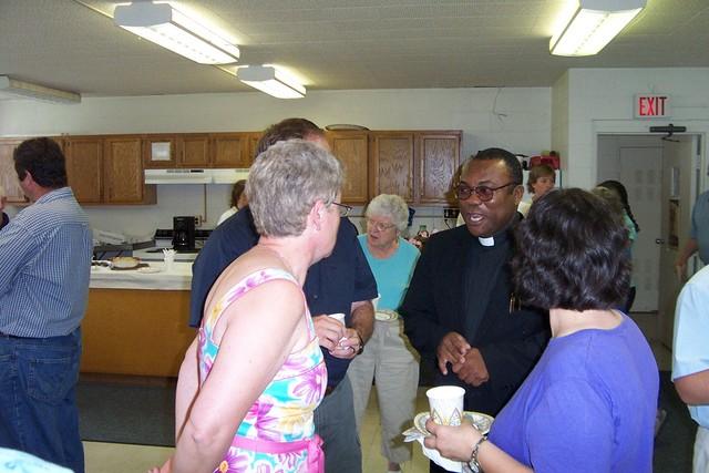 Dour & Van Lantagne, Fr Rome and Bridget Morgan - 2008-06-29 029