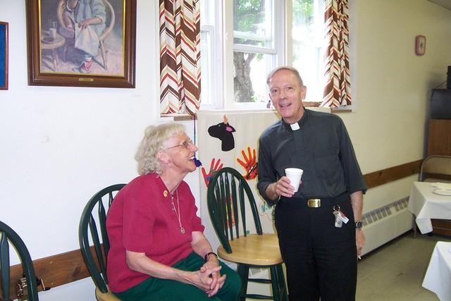 Theresa Raymond & Father Feltz - 2008-06-29 055