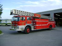 "Highlight for album: FXFD Training with the ""New"" Ladder Truck 6/21/11"