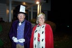Paul Lavallee and his sister Claire were all decked out at The A. W. Rich Funeral Home - 2007-10-31 007