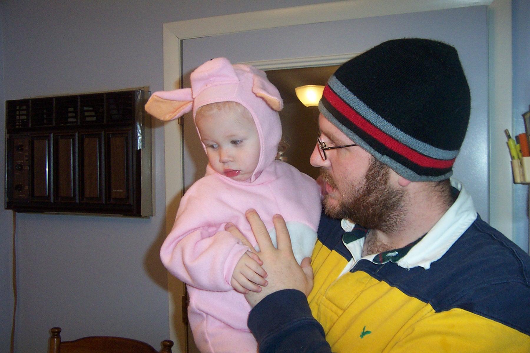 Little Jaiden & her Dad Jeremy - DCP 8475