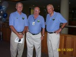 Old Retirees volunteering for service, Dick Bouffard, Ron Gross & Glen Button - IBM50 099
