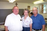 Father Frank, Donna & Jim