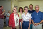 Doug Groseclose, Ruth Burleson, Donna's Mom, Faith Cross, Donna, Mike Cross and Jim