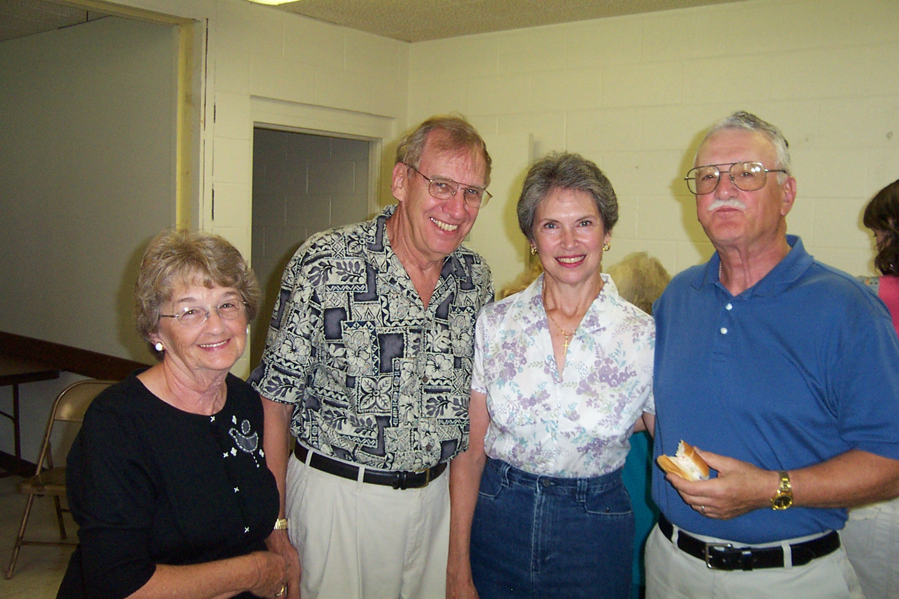 Pauline & Steve Ratte with Donna & Jim Varrichione