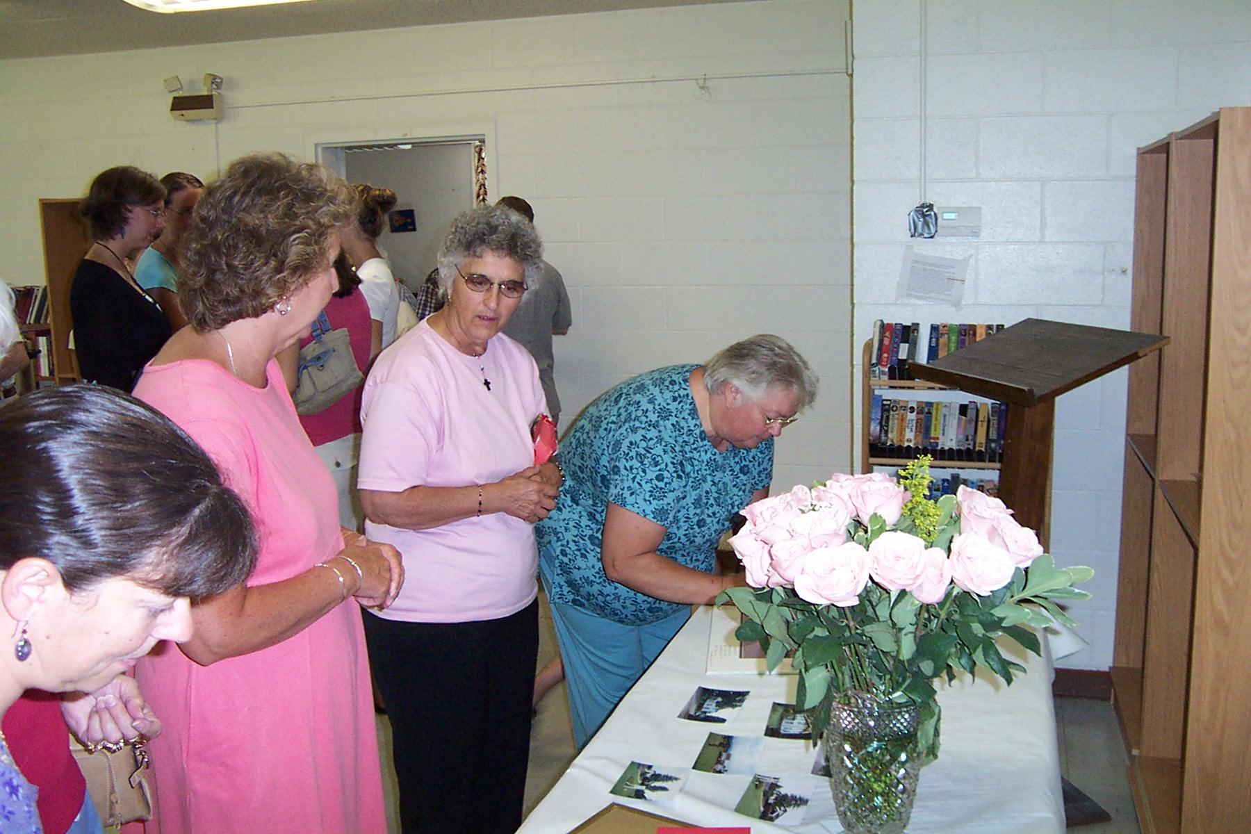 Karen Langelier, Jeannette Wills, Shirley Langlois & Noreen Mongeon