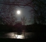 The May Moon - Photo by Carol Lavallee-Graves on May 4, 2004