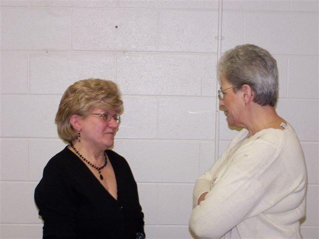 Mary McDevitt & Ginnette Pigeon - 100 2047
