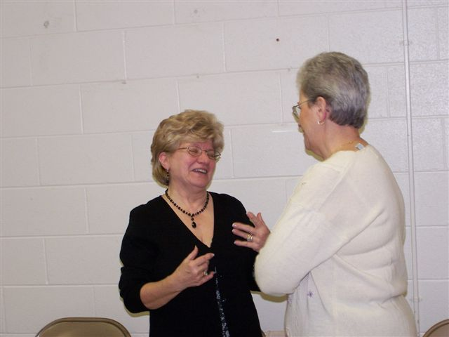Mary McDevitt & Ginnette Pigeon - 100 2048