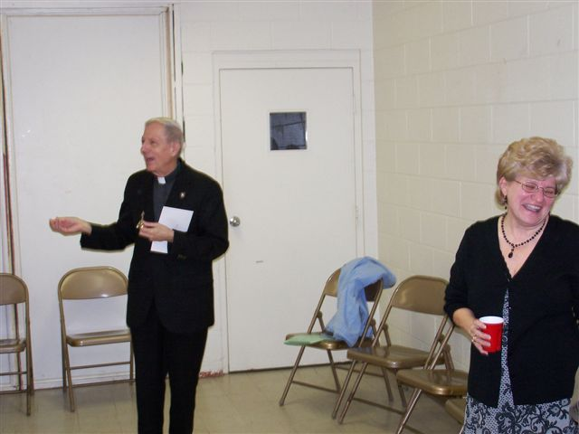 Father Feltz & Mary McDevitt - 100 2052