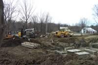 Highlight for album: CONSTRUCTION BEGINS ON A 6 UNIT CONDOMINIUM ON THE FLETCHER ROAD
