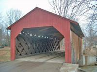 Highlight for album: Miniature Covered Bridge Construction By Bob Greenia