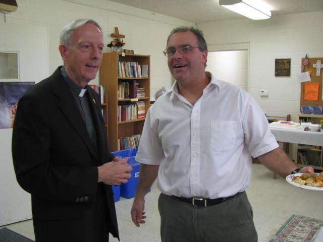 Fr Feltz, Chris Racine - IMG 0594