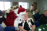 Santa Gives Mrs. Claus a hug - 2007-12-18 009