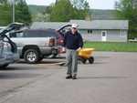 Jim Groseclose - St. Lukes Church cleanup 003