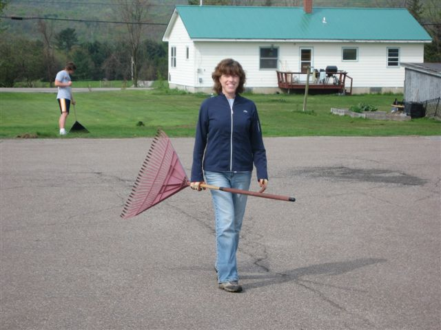 Kathy Hogan - St. Lukes Church cleanup 004