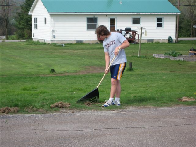 Kyle Redding - St. Lukes Church cleanup 007