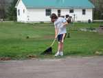 Kyle Redding - St. Lukes Church cleanup 007