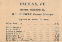 Highlight for album: Local Telephone Directory - May 1938