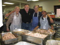 Highlight for album: St. Luke's Turkey Dinner Photos From Father Julien