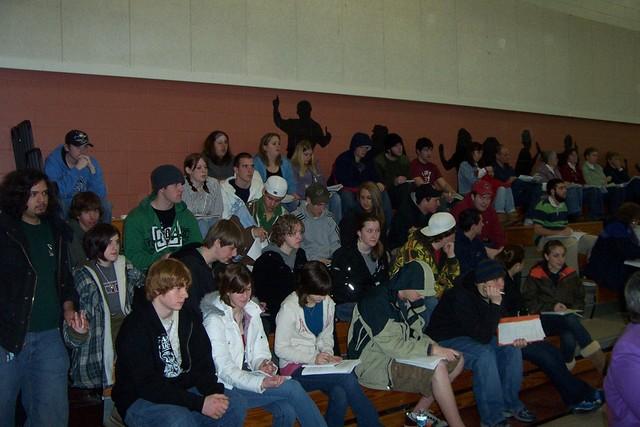BFA-Fairfax Senior Social Studies Class is in Attendance - twnmeeting 2008 011