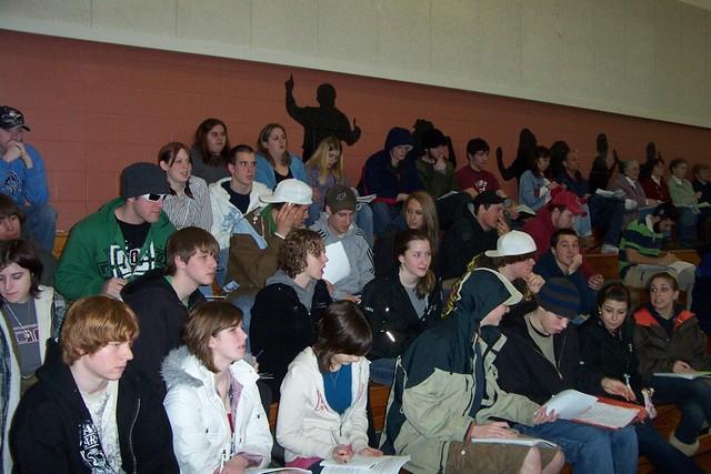 BFA-Fairfax Senior Social Studies Class is in Attendance - twnmeeting 2008 012