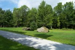 Two large boulders enhance the driveway to the Rainville Residence - 3007-08-13 003